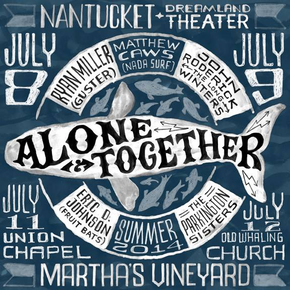 Poster for Alone & Together tour